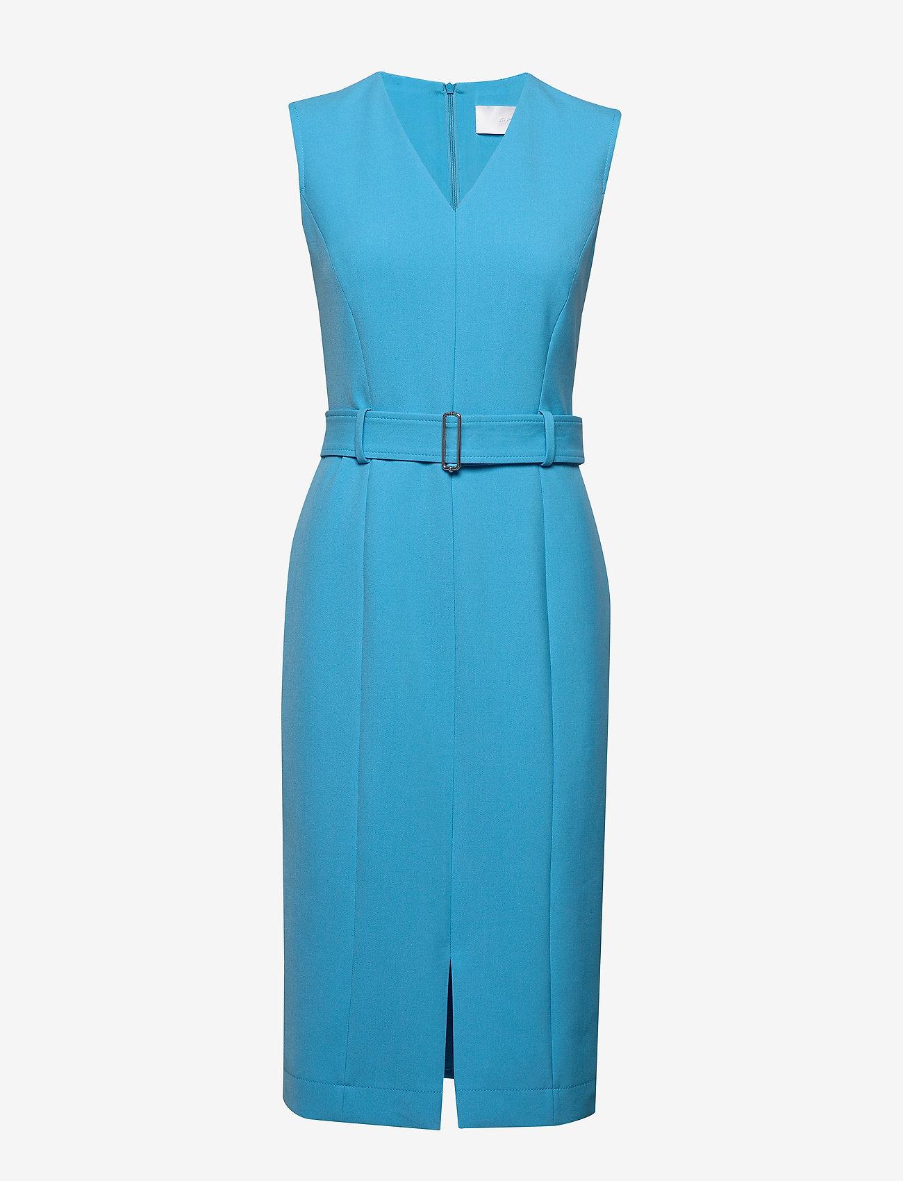 BOSS - Dadorina - midi kjoler - bright blue