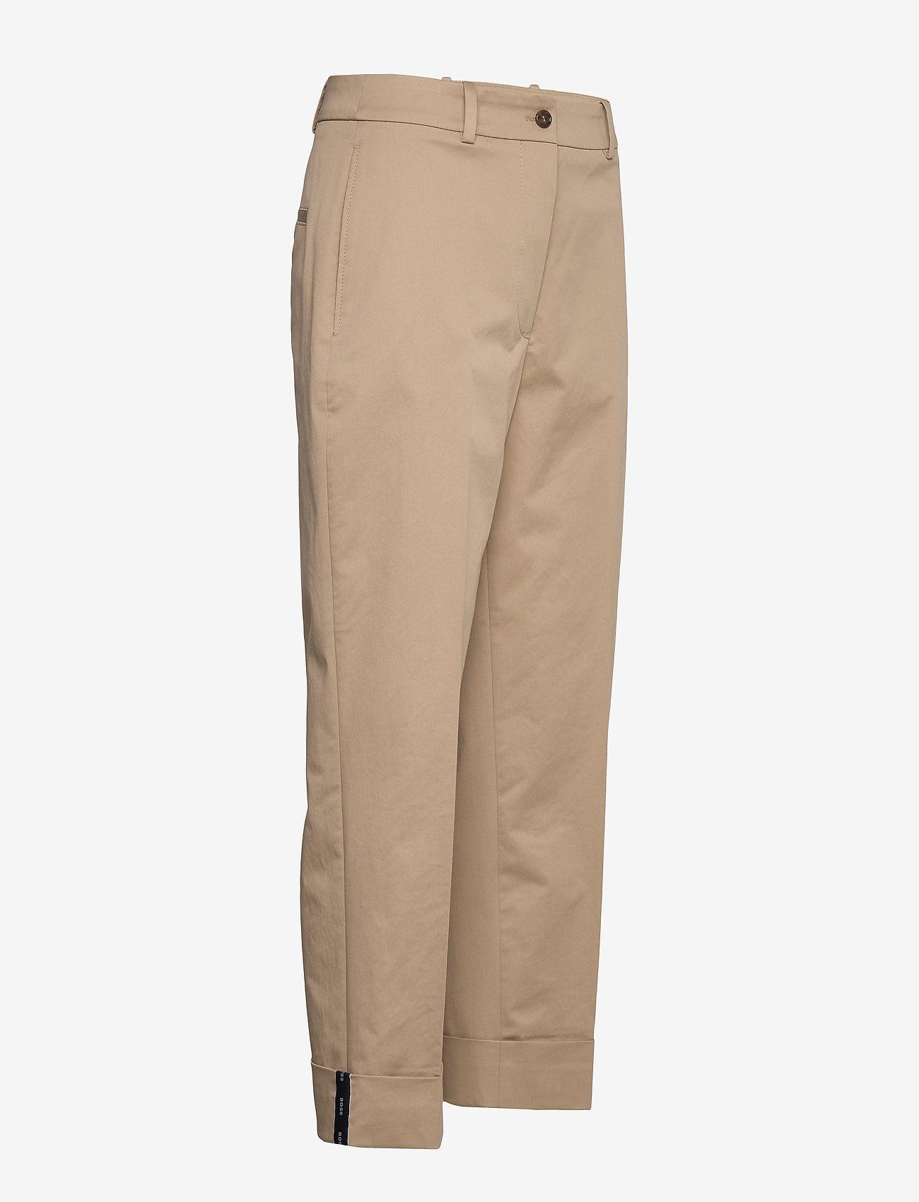 BOSS - Tachino - bukser med lige ben - medium beige - 1