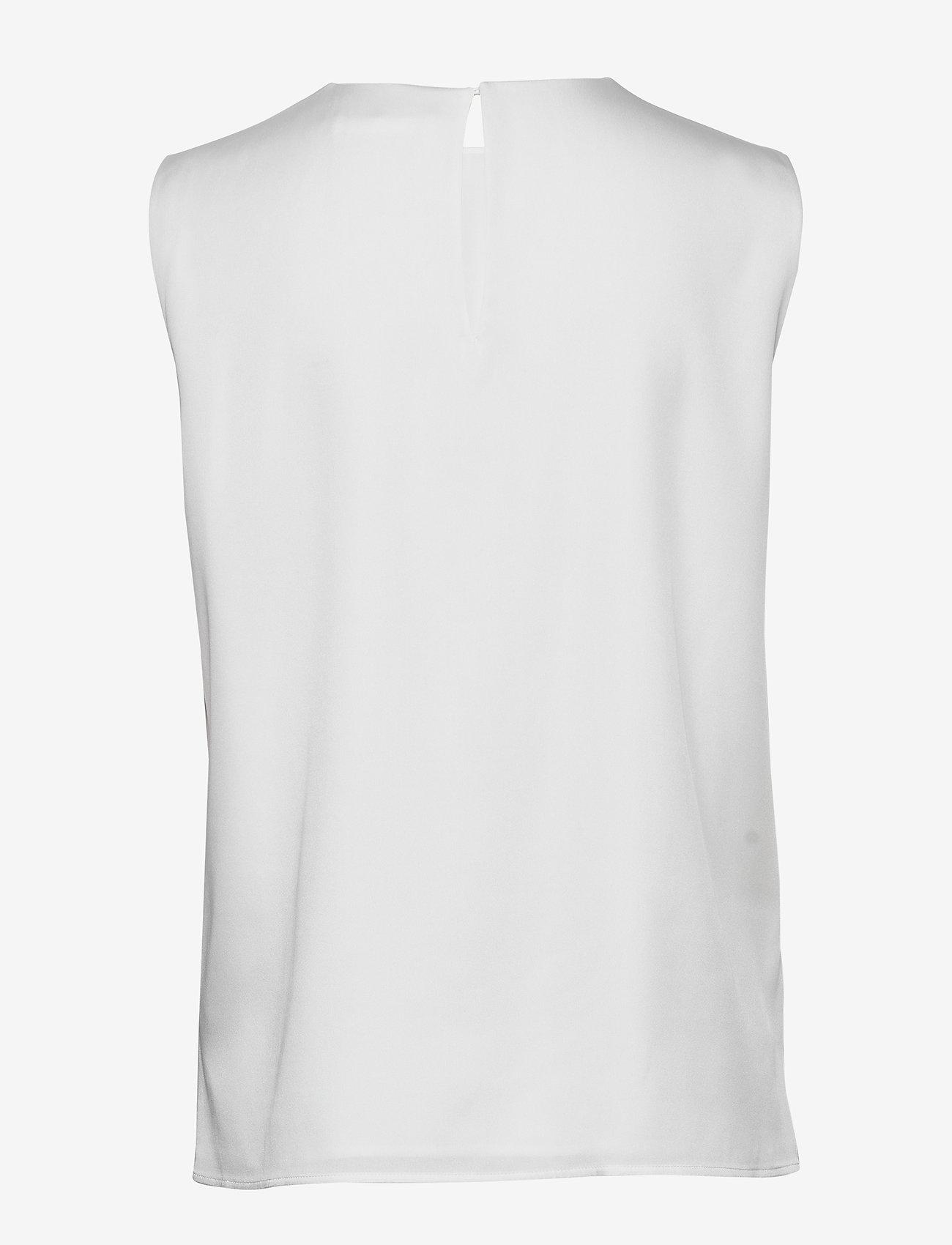 BOSS - Iesana - Ærmeløse bluser - open white - 1