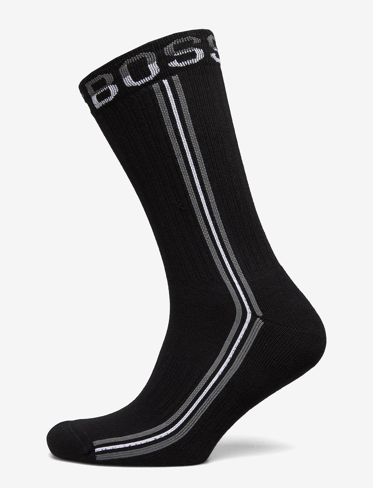 BOSS - QS Rib Tape CC - regulære sokker - black - 0