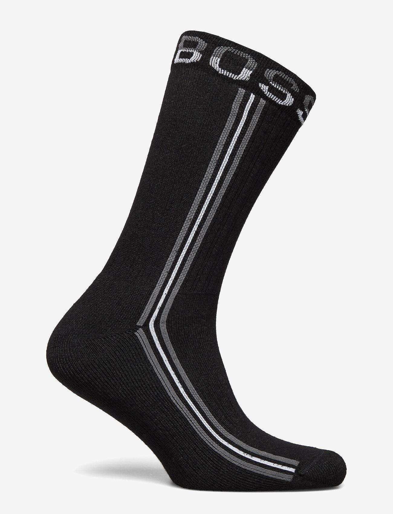 BOSS - QS Rib Tape CC - regulære sokker - black - 1