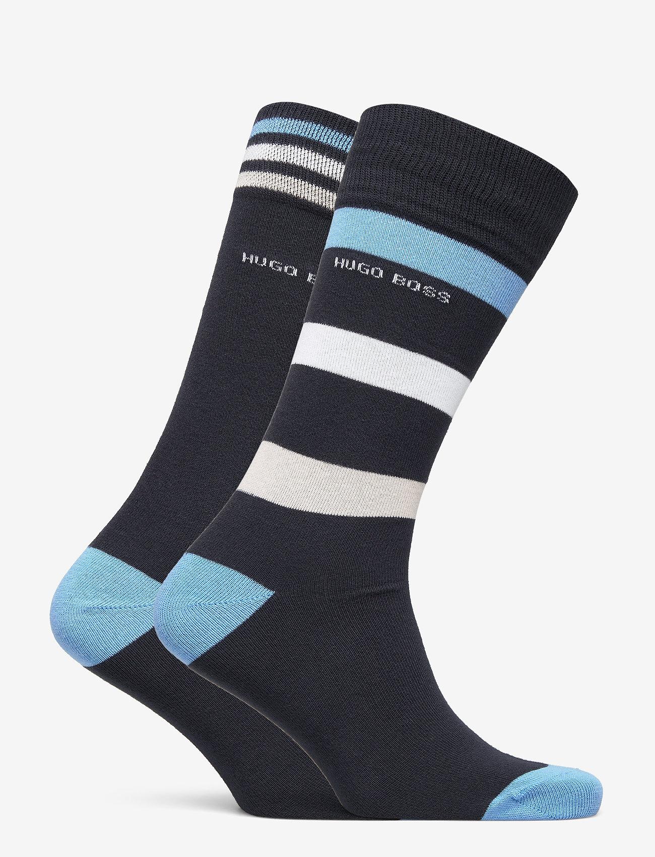 BOSS - 2P RS Stripe CC - regulære sokker - dark blue - 1