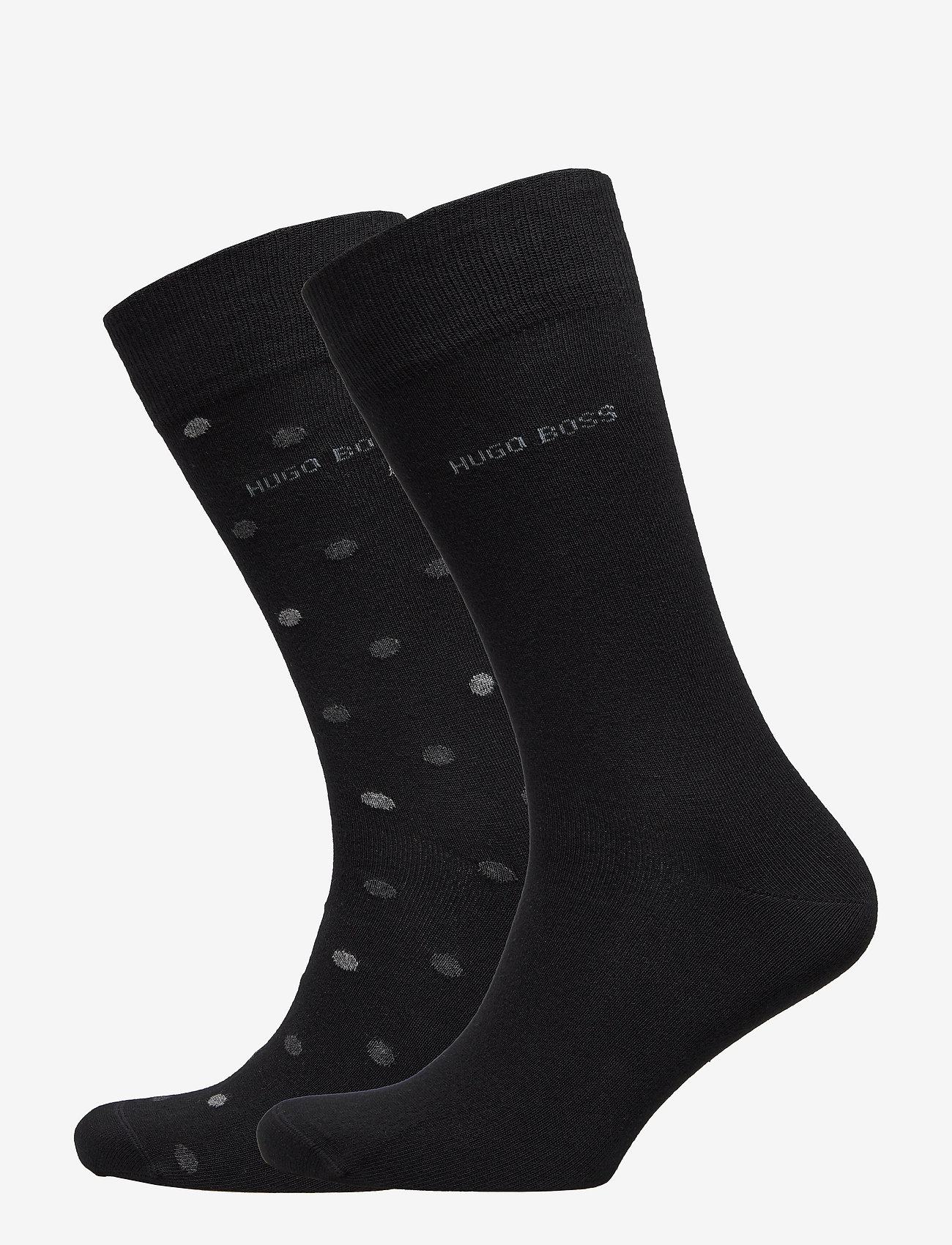 BOSS - 2P RS Dot CC - regulære sokker - black - 0