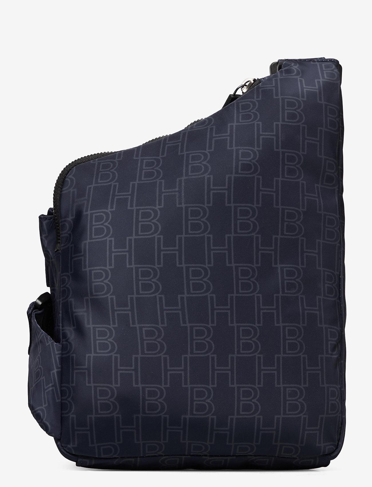 BOSS - Pixel AL_Bodybag - skuldertasker - navy - 1