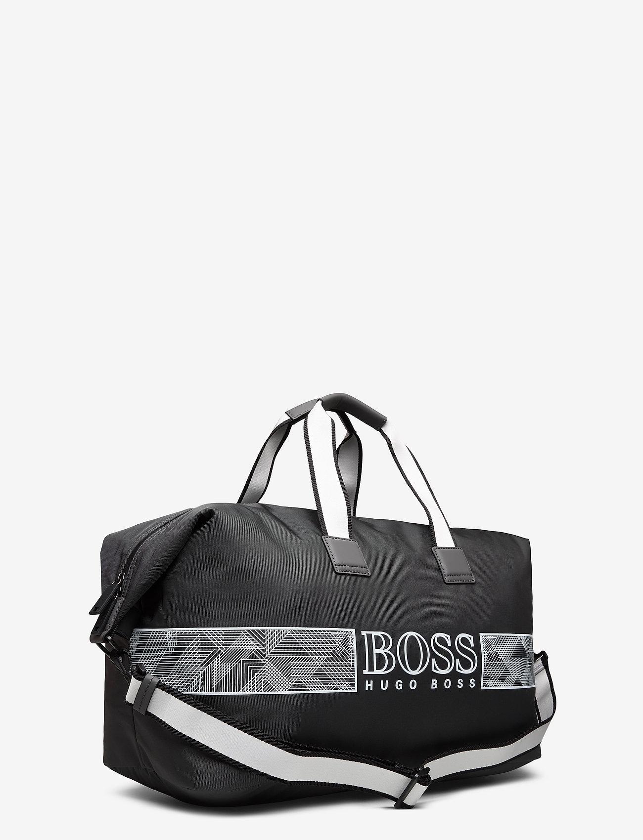 Boss Pixel O_holdall Dark Grey