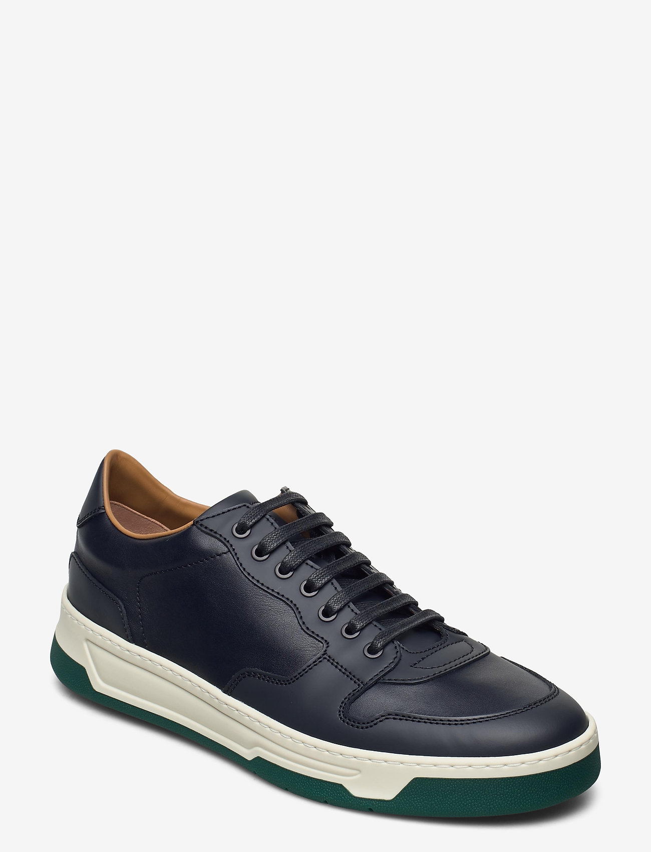 BOSS - Baltimore_Tenn_ltrb - låga sneakers - medium blue - 0
