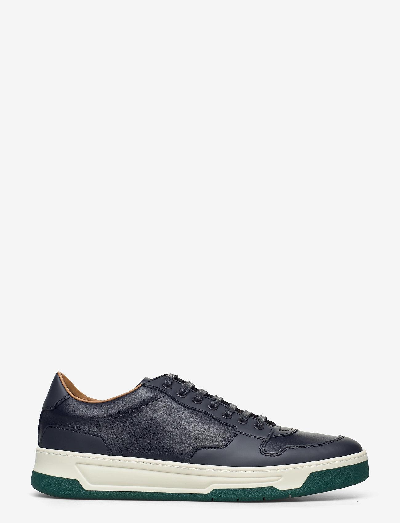 BOSS - Baltimore_Tenn_ltrb - låga sneakers - medium blue - 1