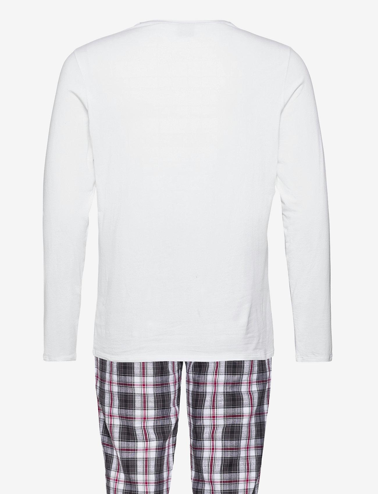 BOSS - Cosy Long Set - pyjamas - dark red - 1