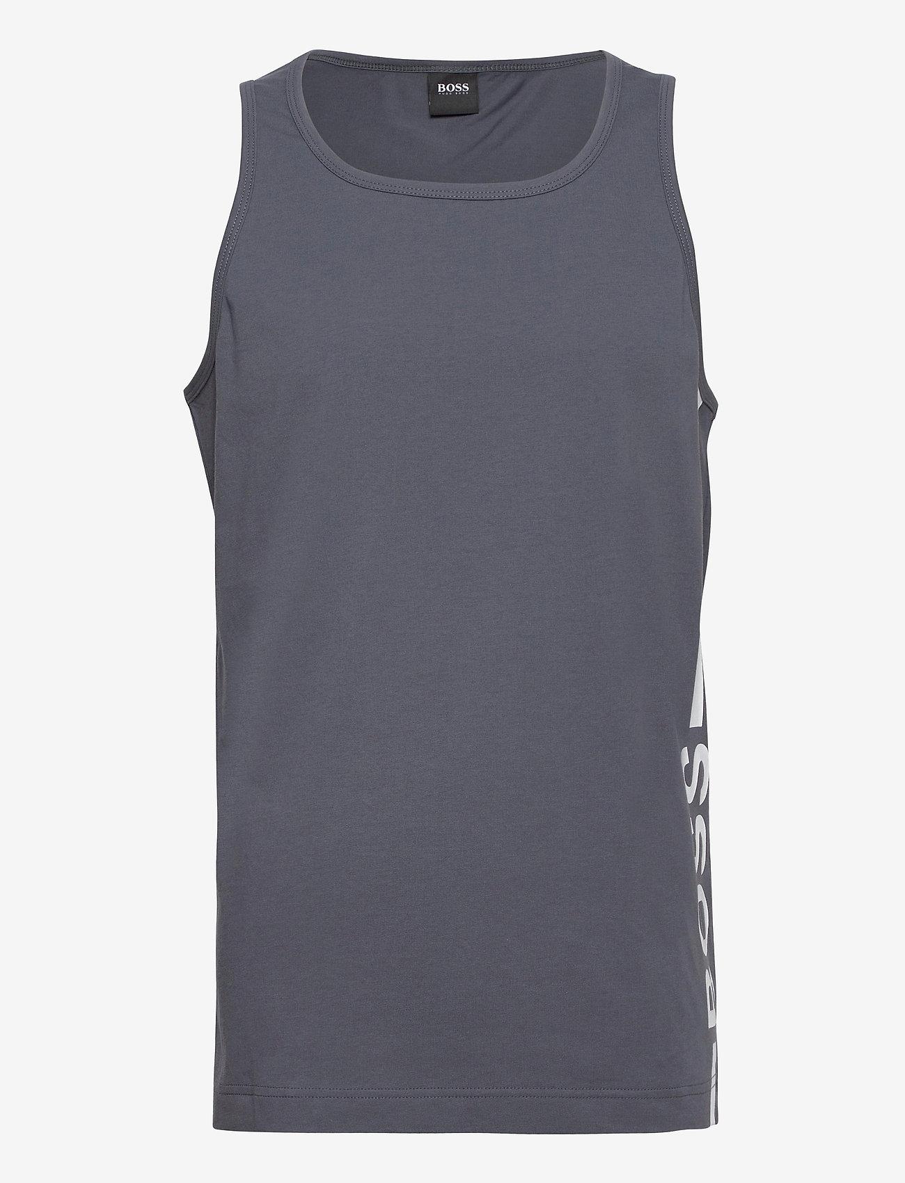 BOSS - Beach Tank Top - t-shirts basiques - dark grey - 0