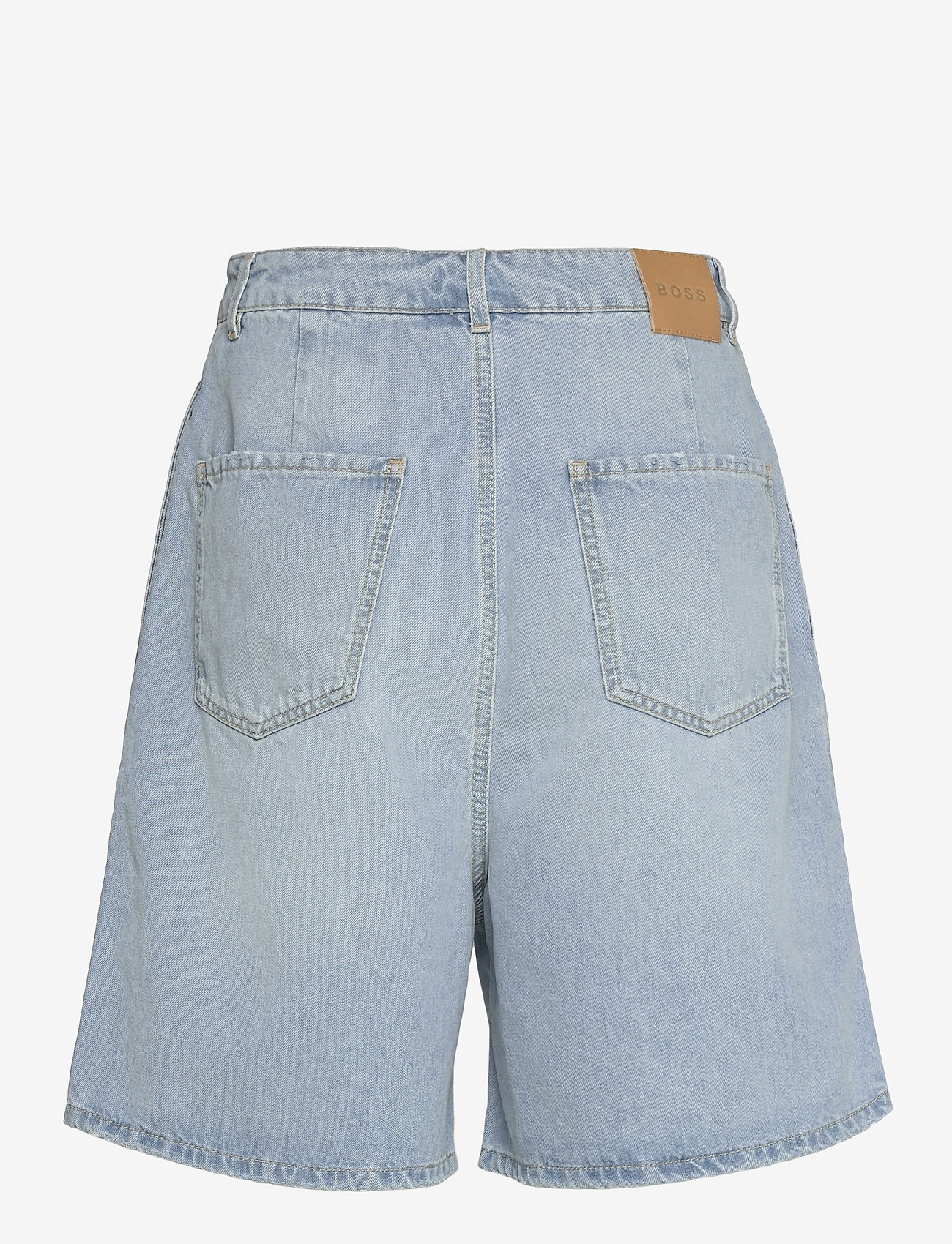 BOSS - DENIM SHORTS 1.0 - jeansshorts - medium blue - 1