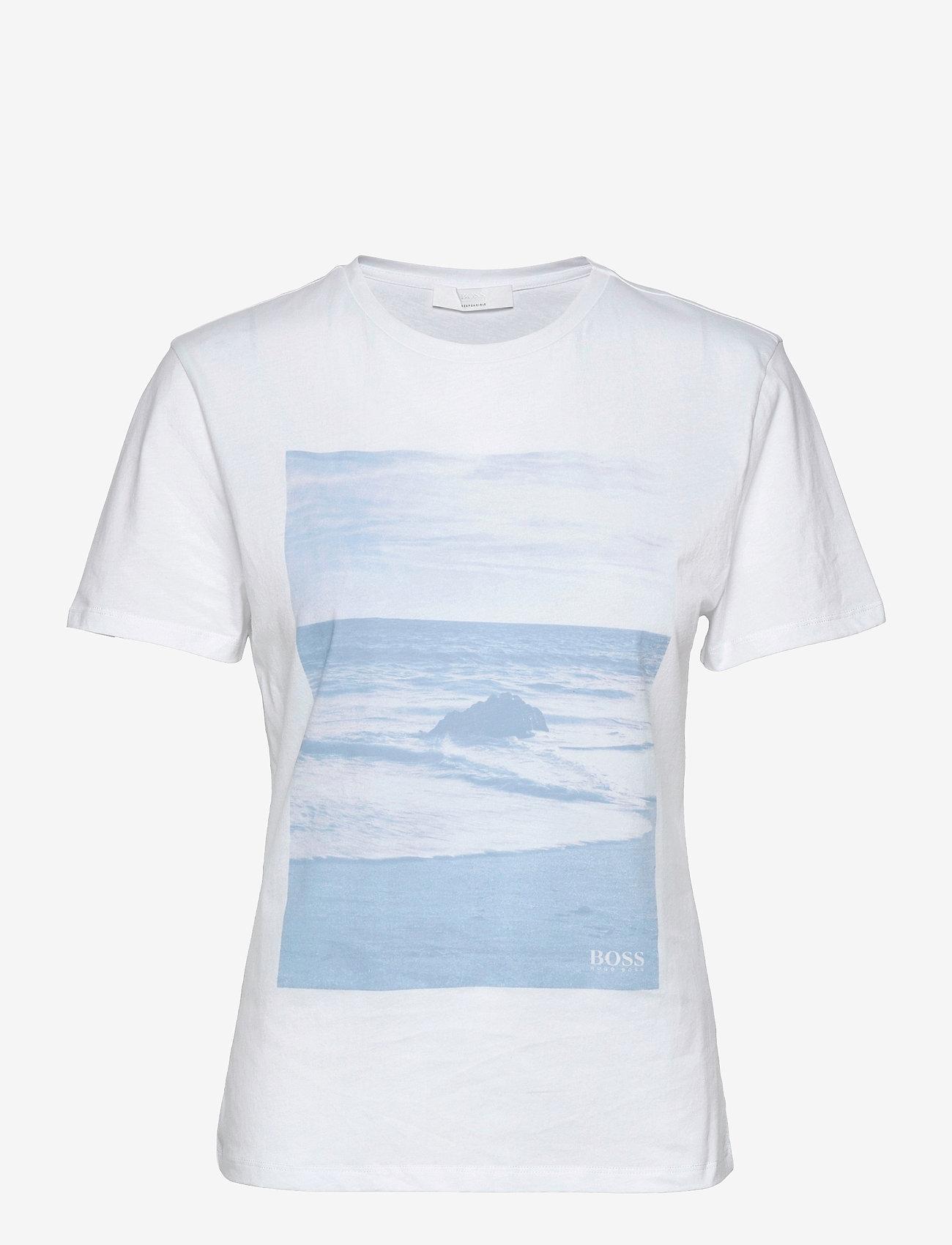 BOSS - C_Eima - t-shirts - natural - 0