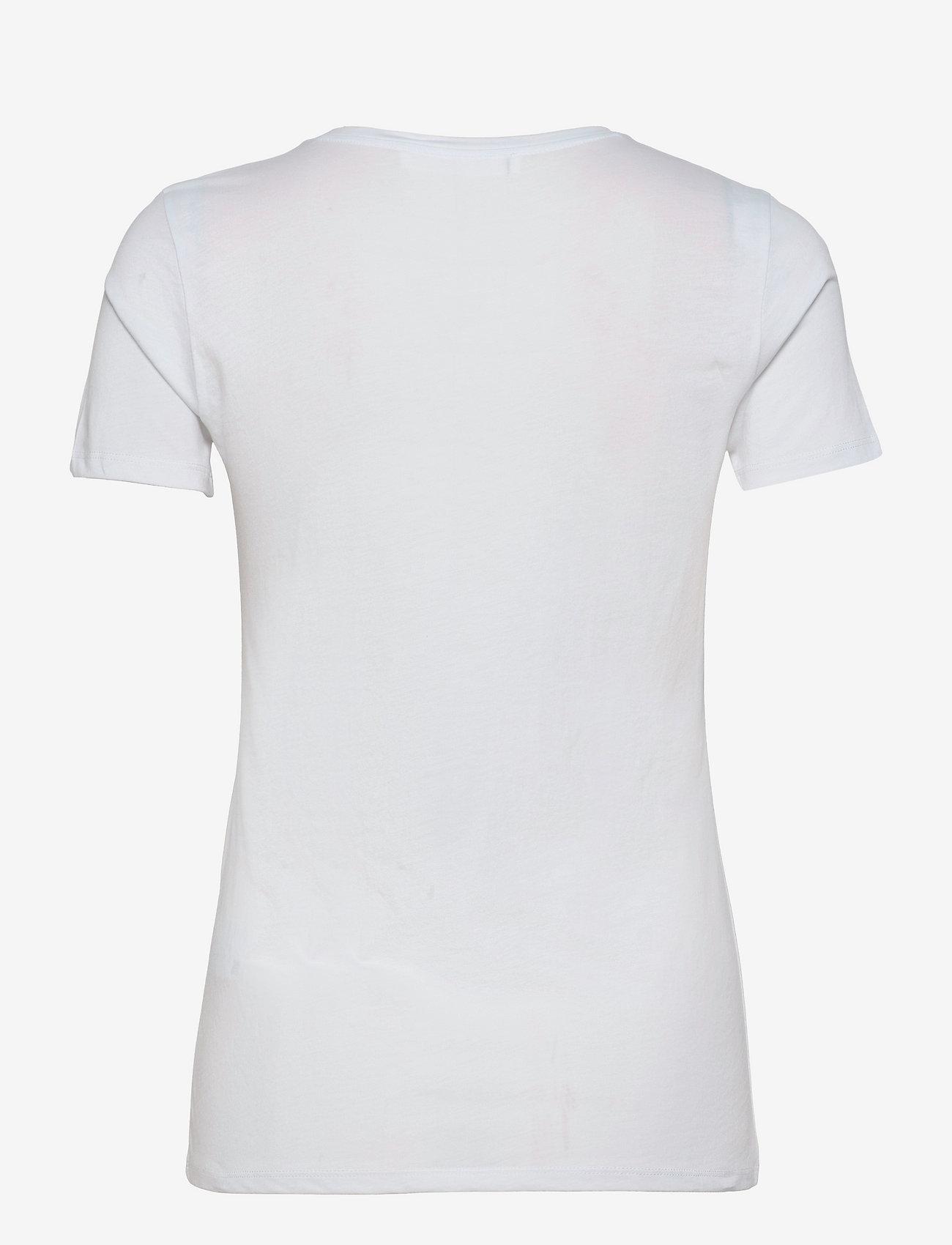BOSS - C_Eloga1 - t-shirts - white - 1
