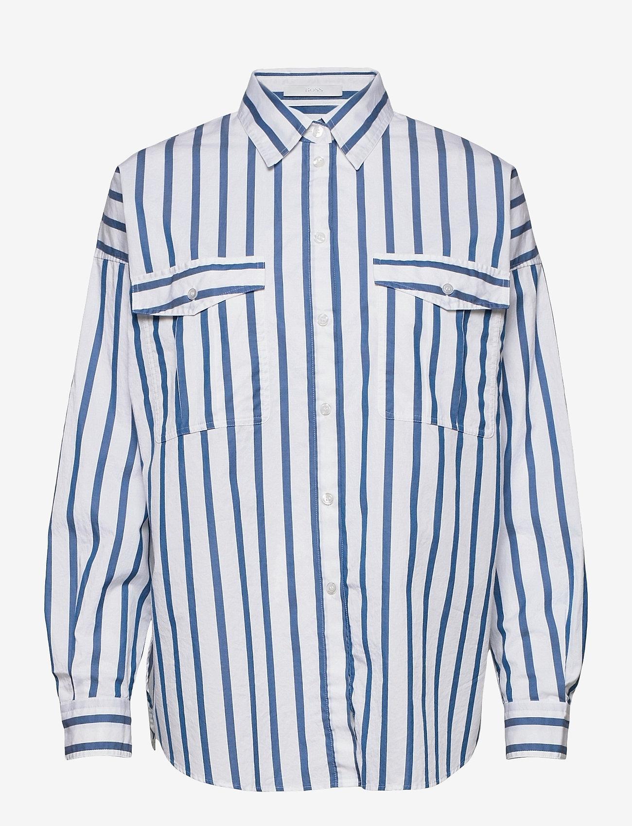 BOSS - C_Beruno - chemises à manches longues - open blue - 0