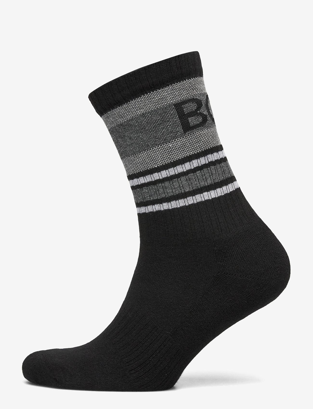 BOSS - QS Rib Piquet CC - chaussettes régulières - black - 0