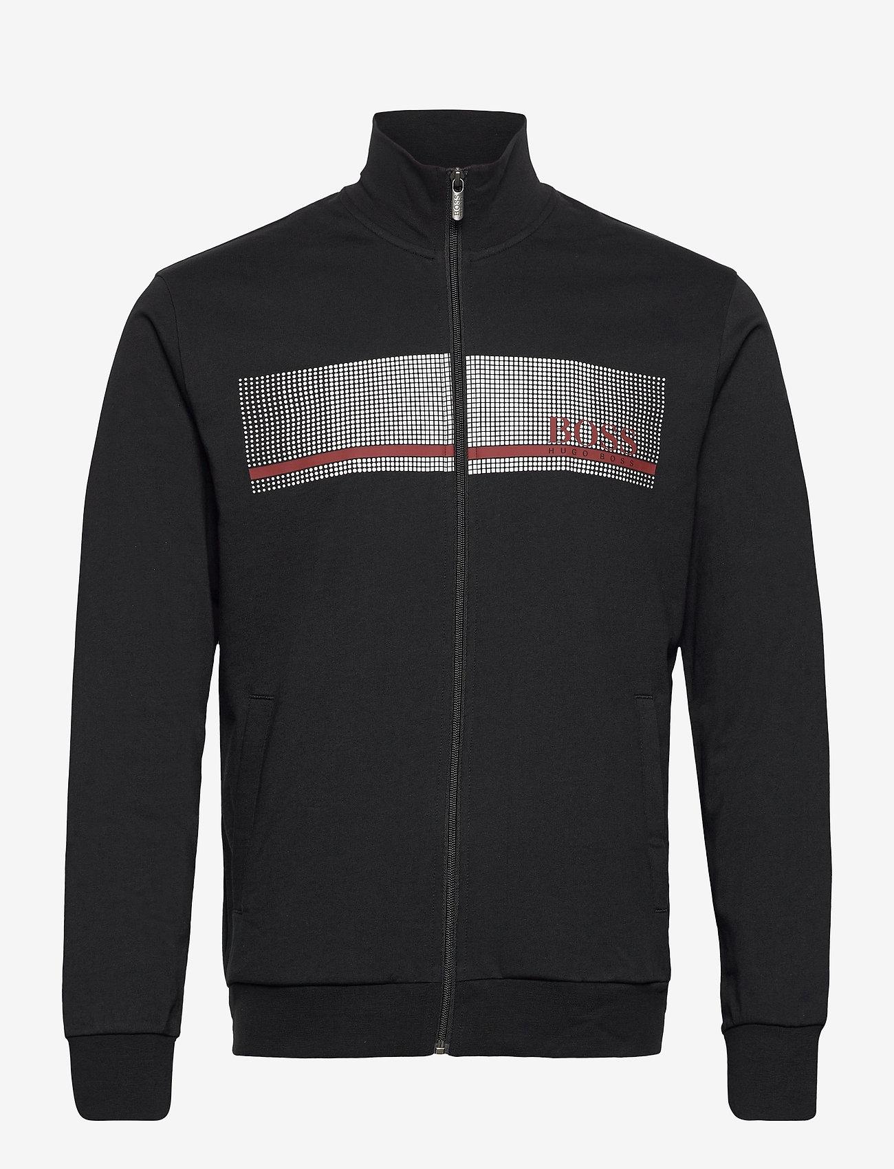 BOSS - Authentic Jacket Z - sweats - black - 0