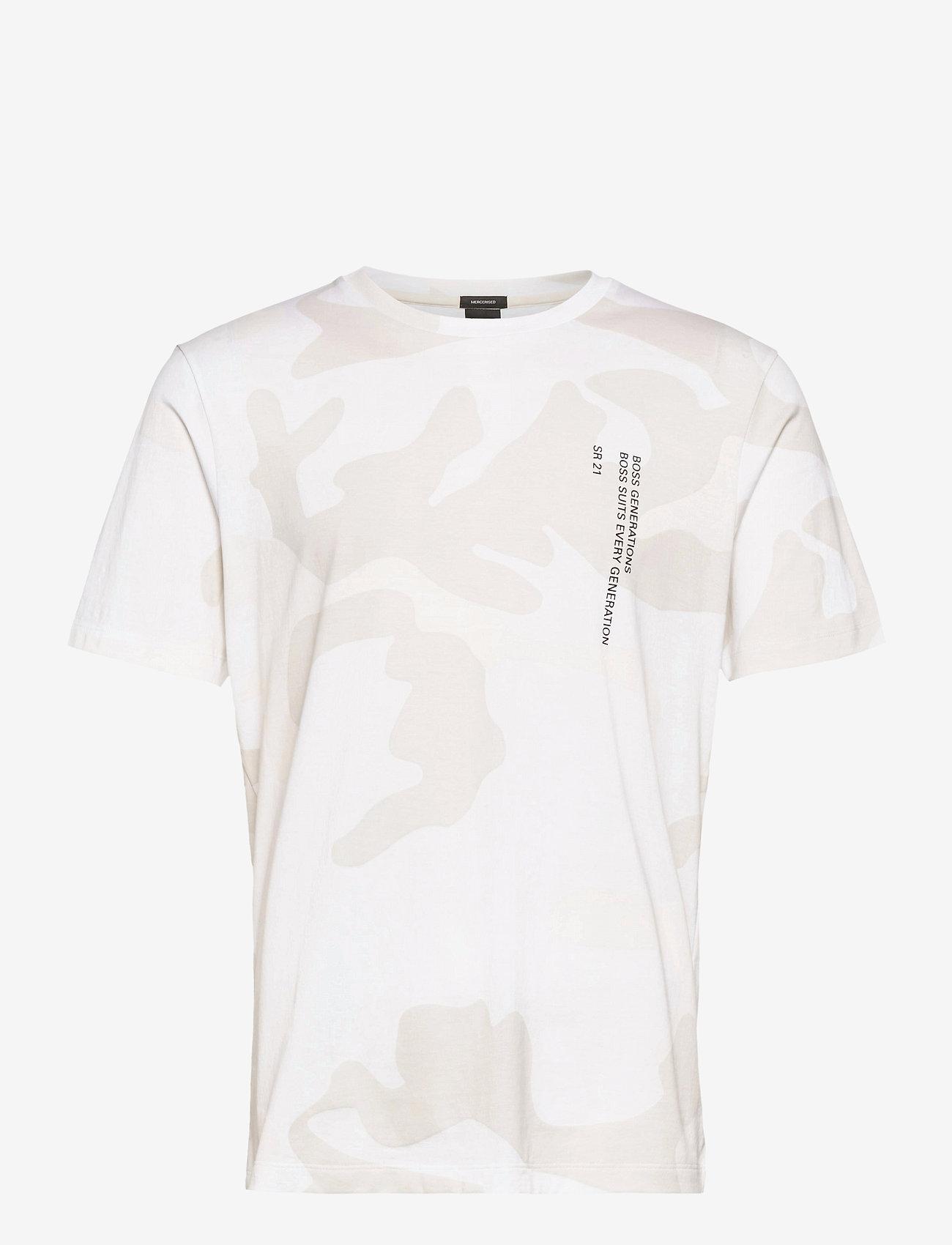 BOSS - Tames 28 - t-shirts à manches courtes - open white - 0