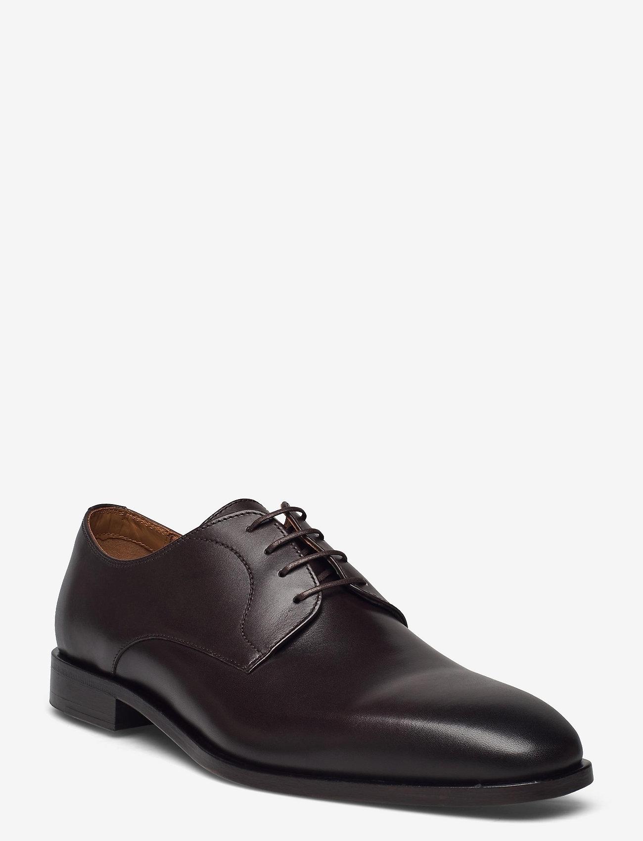 BOSS - Lisbon_Derb_bu1 - chaussures lacées - dark brown - 0