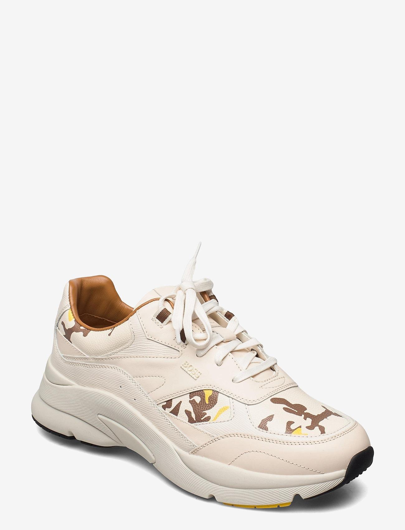 BOSS - Ardical_Runn_ltpr - låga sneakers - open yellow - 0