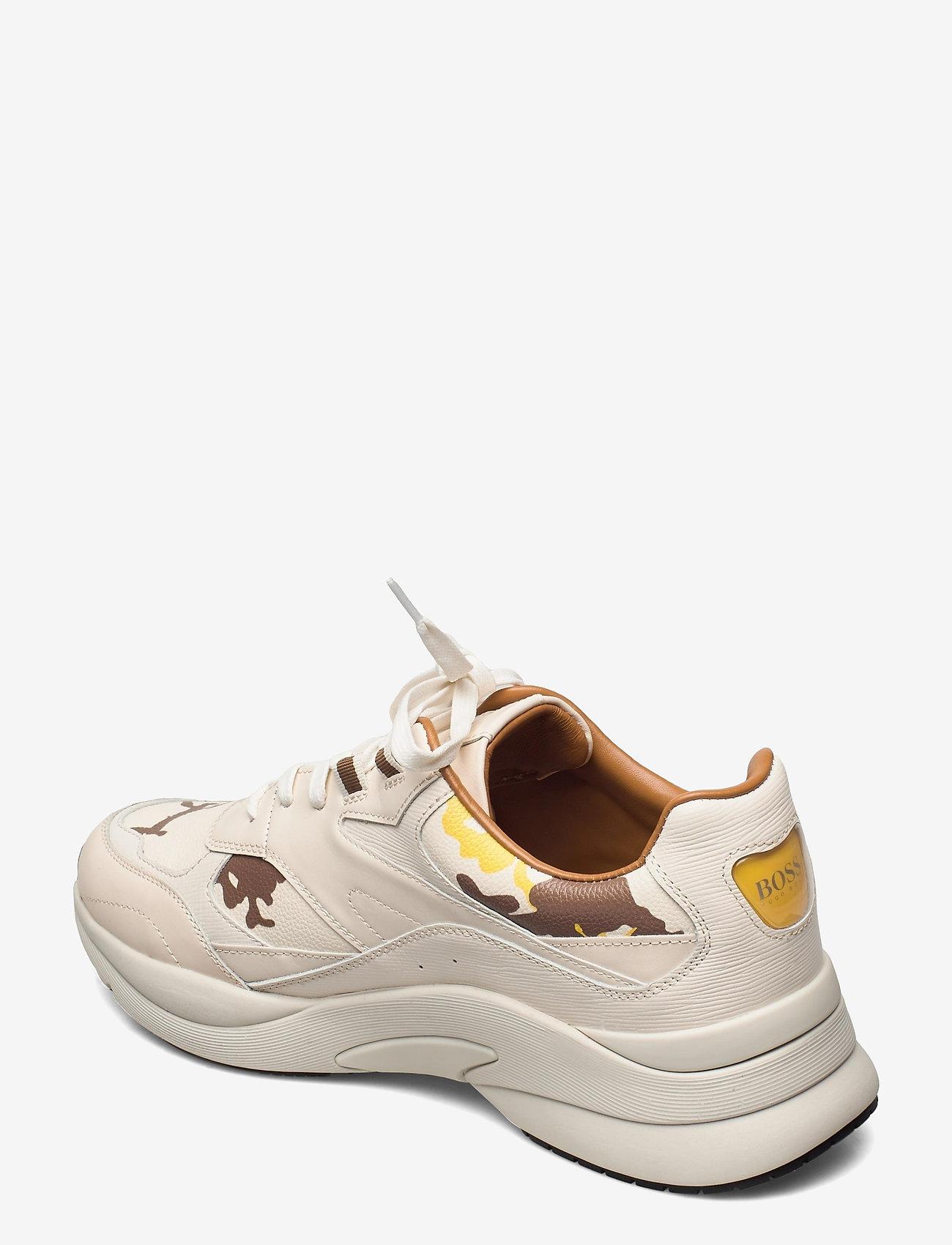 BOSS - Ardical_Runn_ltpr - låga sneakers - open yellow - 2