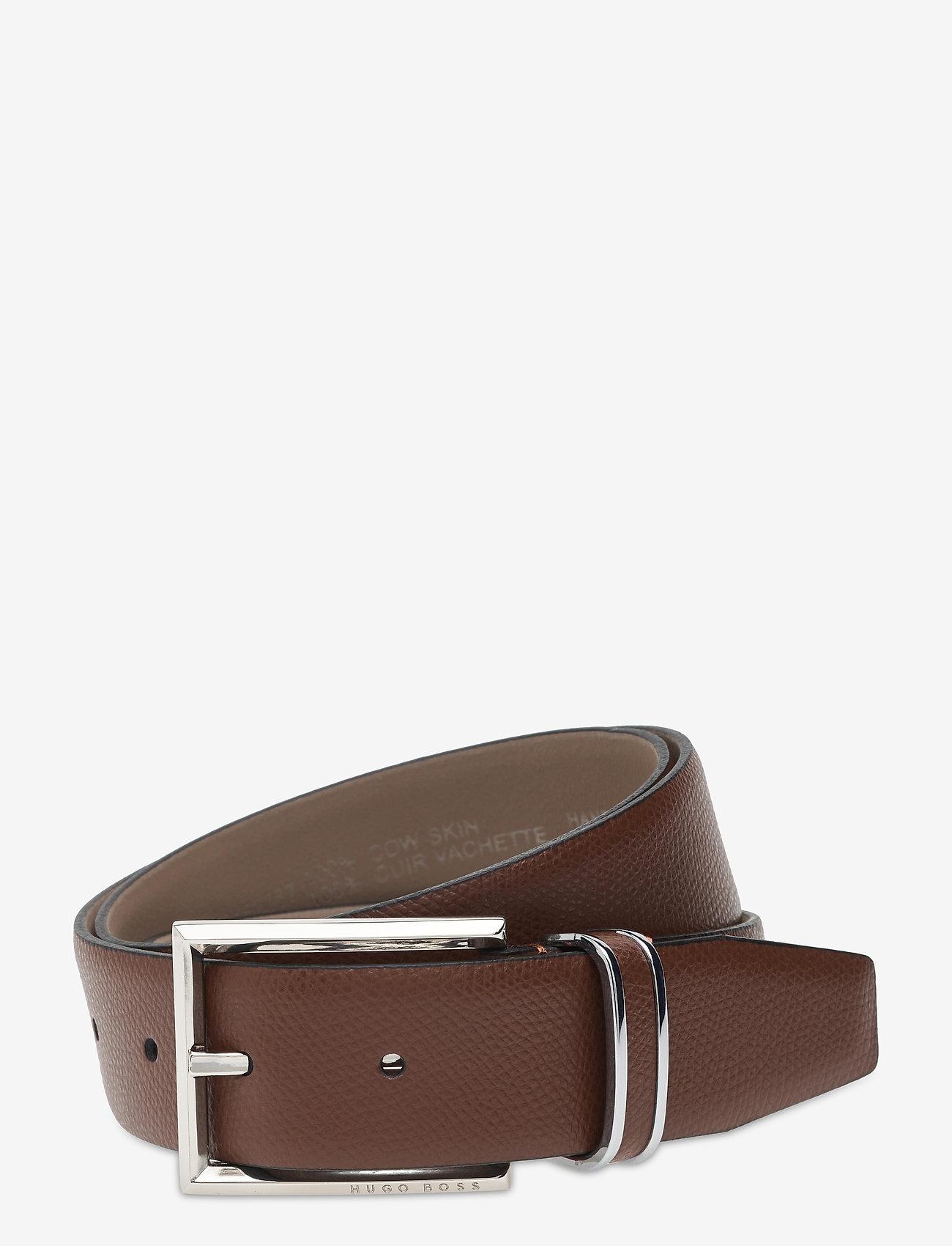 BOSS - Eres-Loop-Gr_Sz35 - ceintures classiques - medium brown - 0