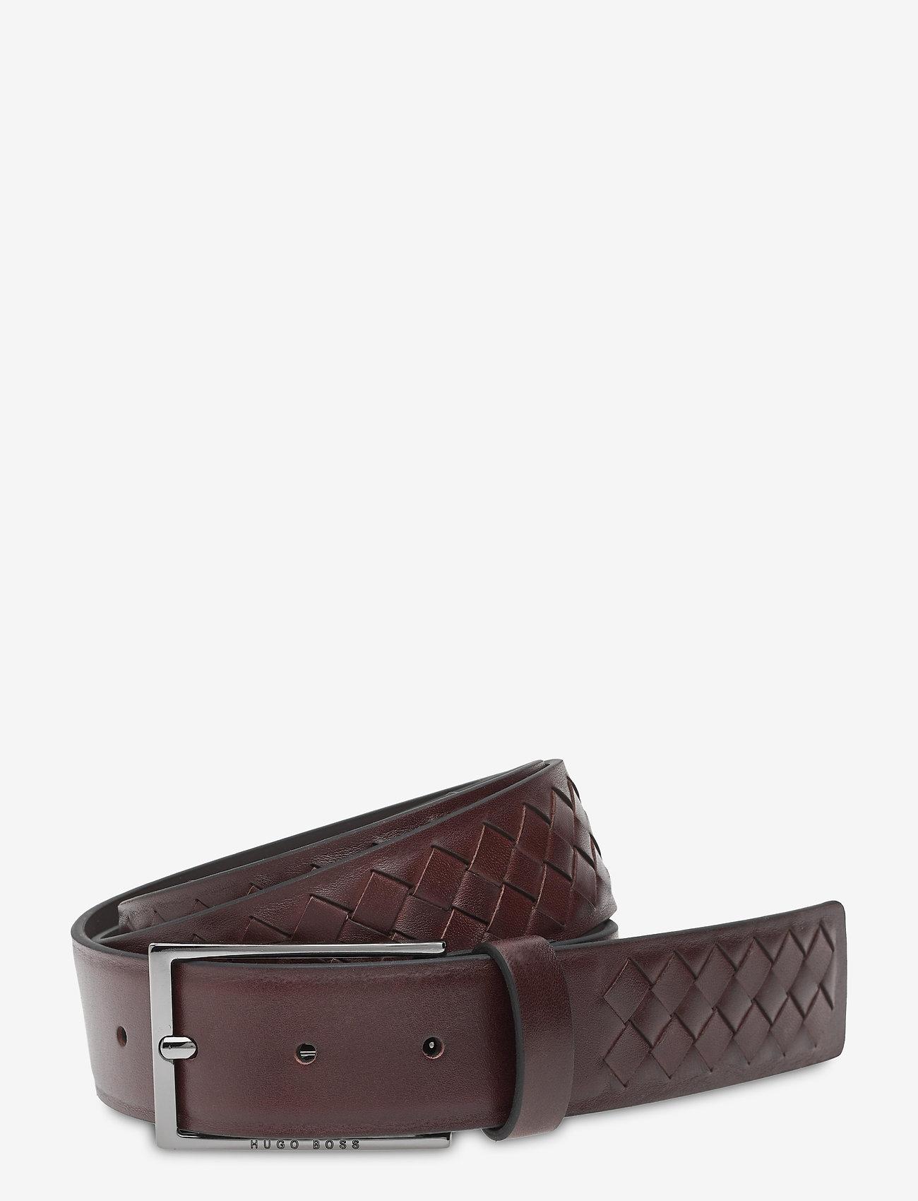BOSS - Carmello-Wn1_Sz35 - ceintures classiques - dark brown - 0