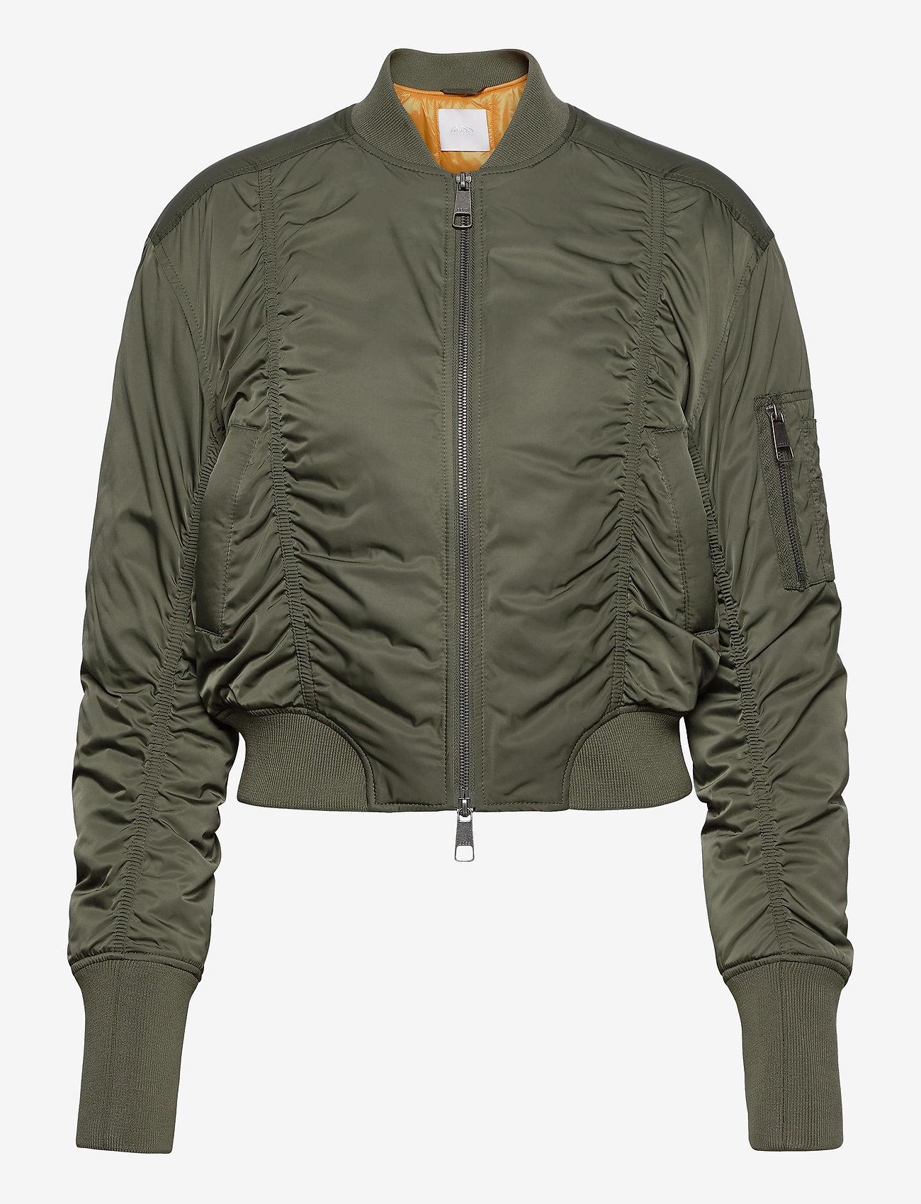 BOSS - Pabomber - vestes bomber - dark beige - 0