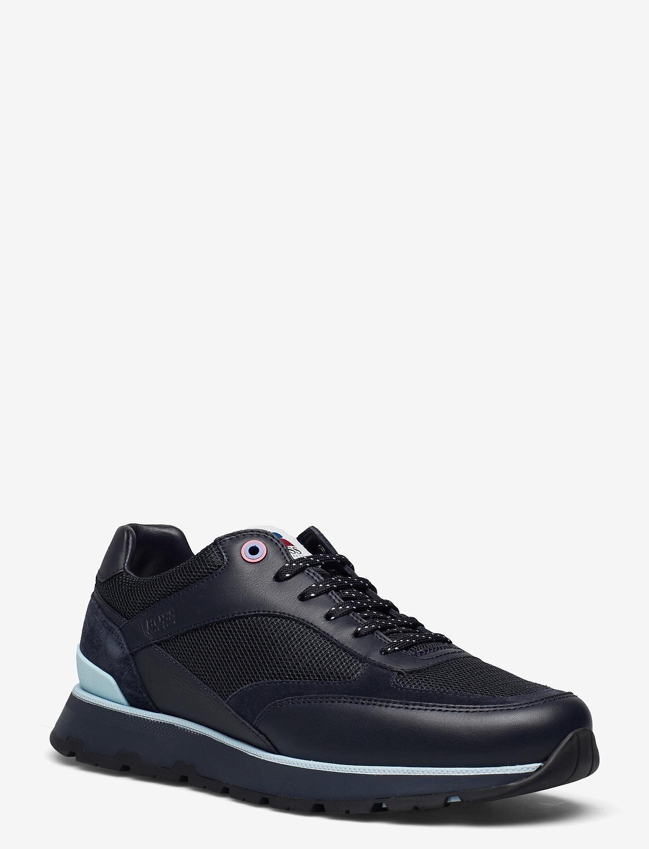 BOSS - BOSS x Russell Athletic Arigon_Runn_RA - låga sneakers - dark blue - 2