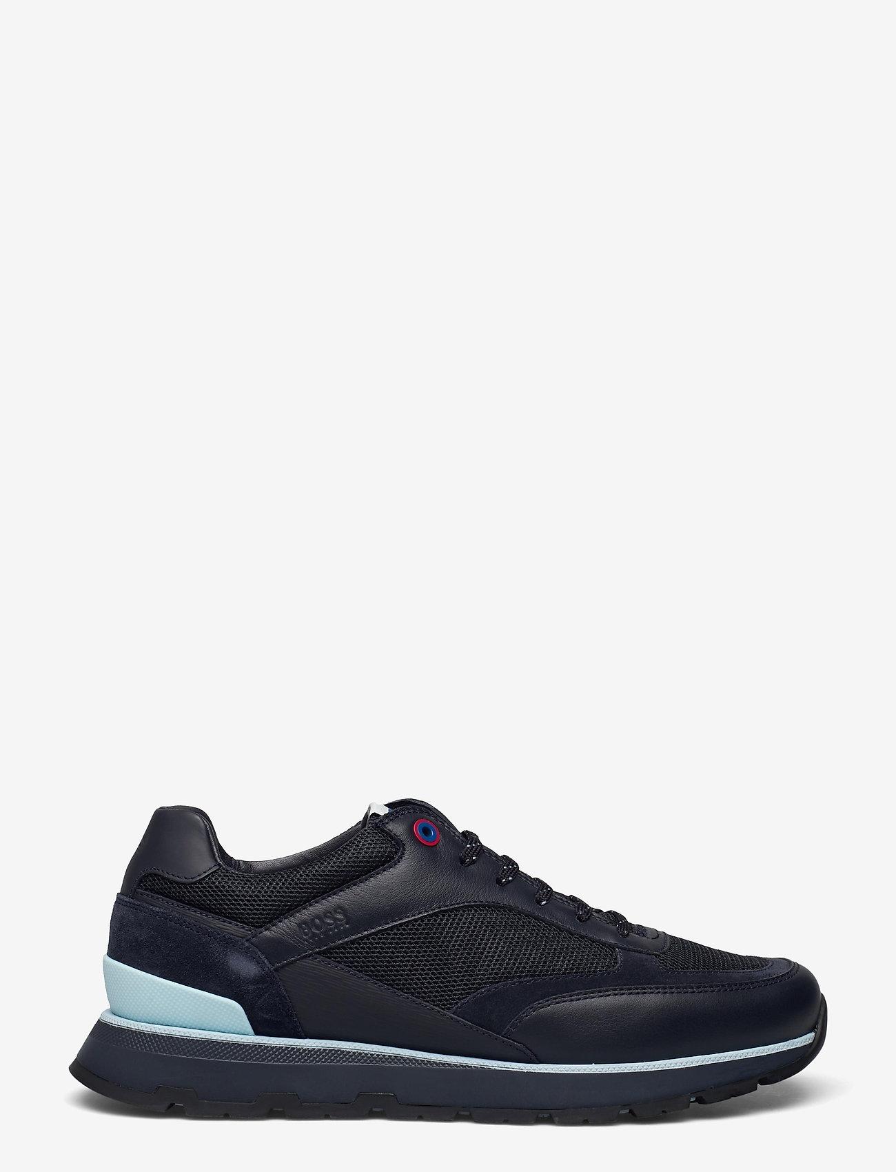 BOSS - BOSS x Russell Athletic Arigon_Runn_RA - låga sneakers - dark blue - 1