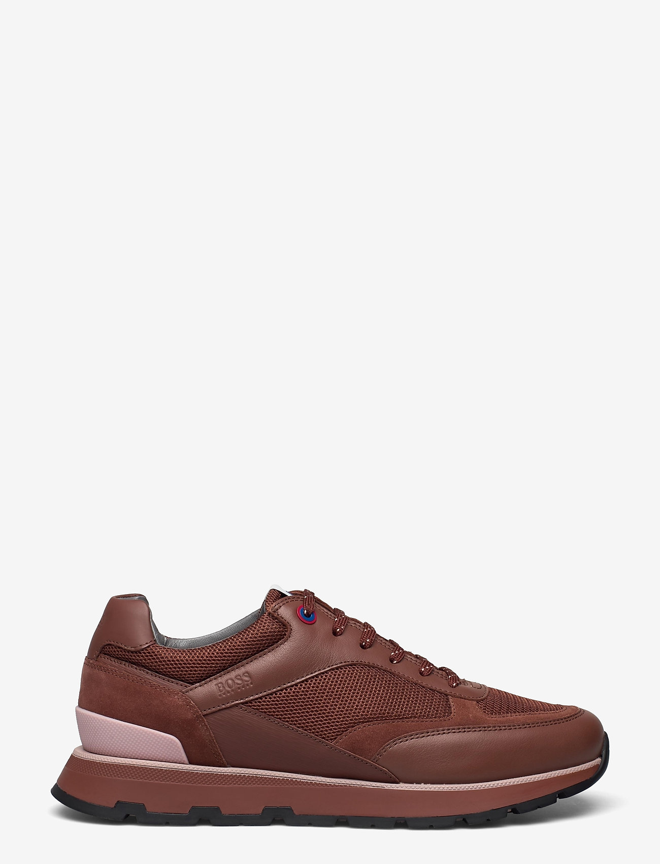 BOSS - BOSS x Russell Athletic Arigon_Runn_RA - låga sneakers - open brown - 1