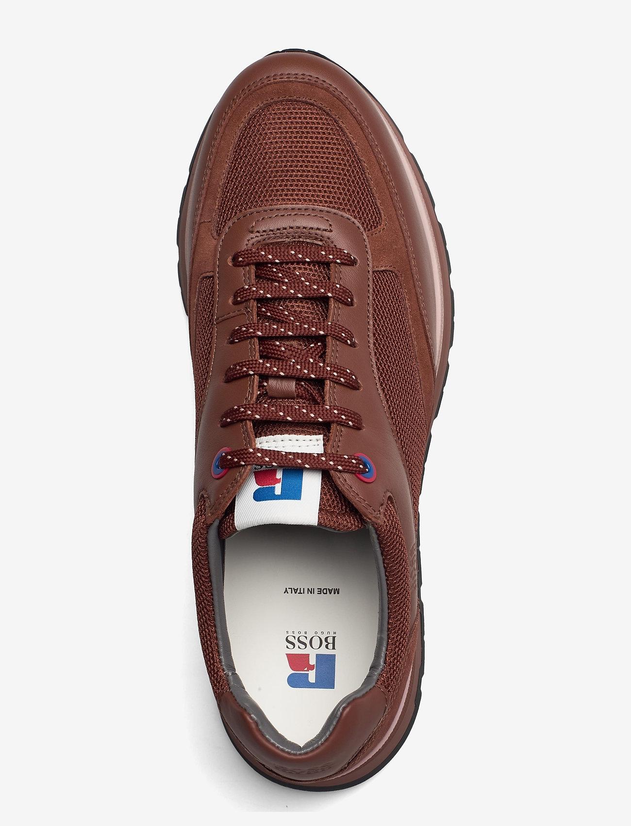 BOSS - BOSS x Russell Athletic Arigon_Runn_RA - låga sneakers - open brown - 3