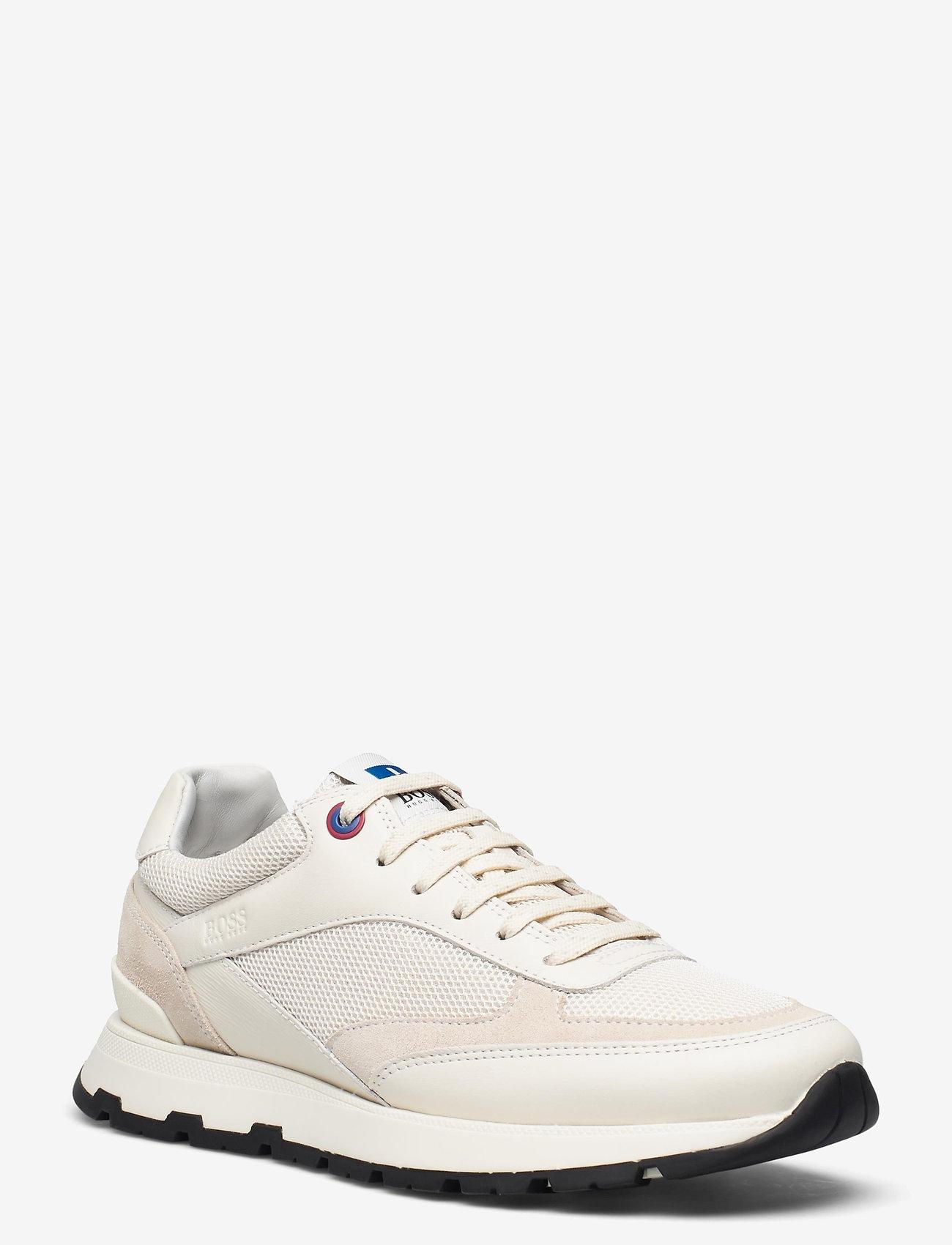 BOSS - BOSS x Russell Athletic Arigon_Runn_RA - låga sneakers - open white - 2