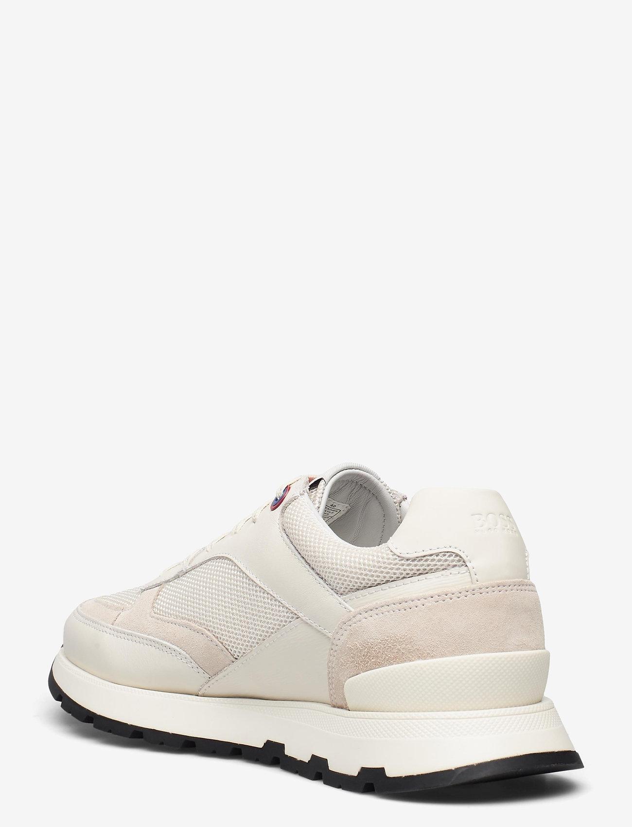 BOSS - BOSS x Russell Athletic Arigon_Runn_RA - låga sneakers - open white - 3