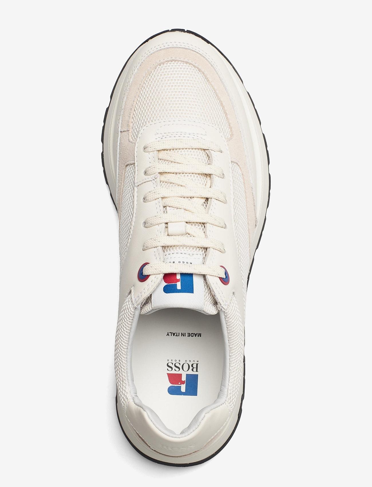 BOSS - BOSS x Russell Athletic Arigon_Runn_RA - låga sneakers - open white - 4