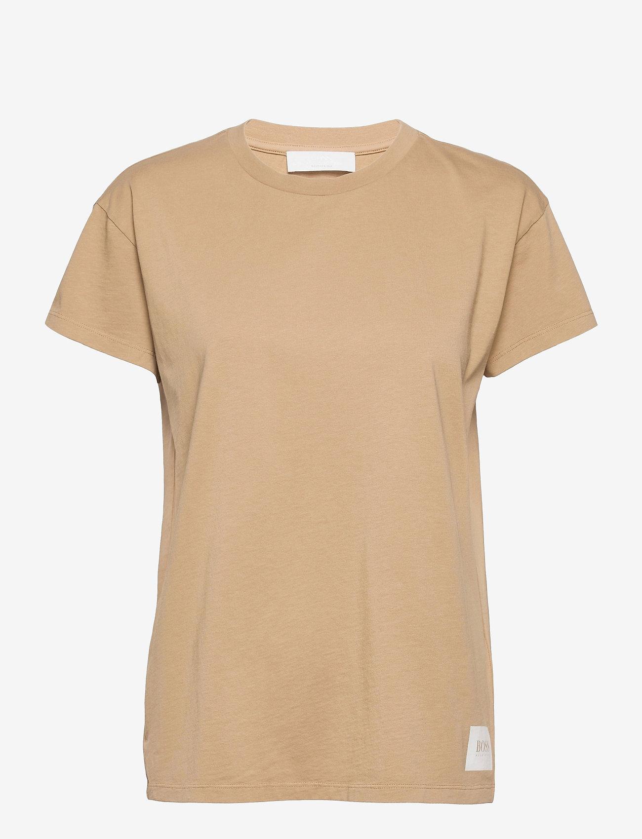 BOSS - Egar - t-shirts - medium beige - 0
