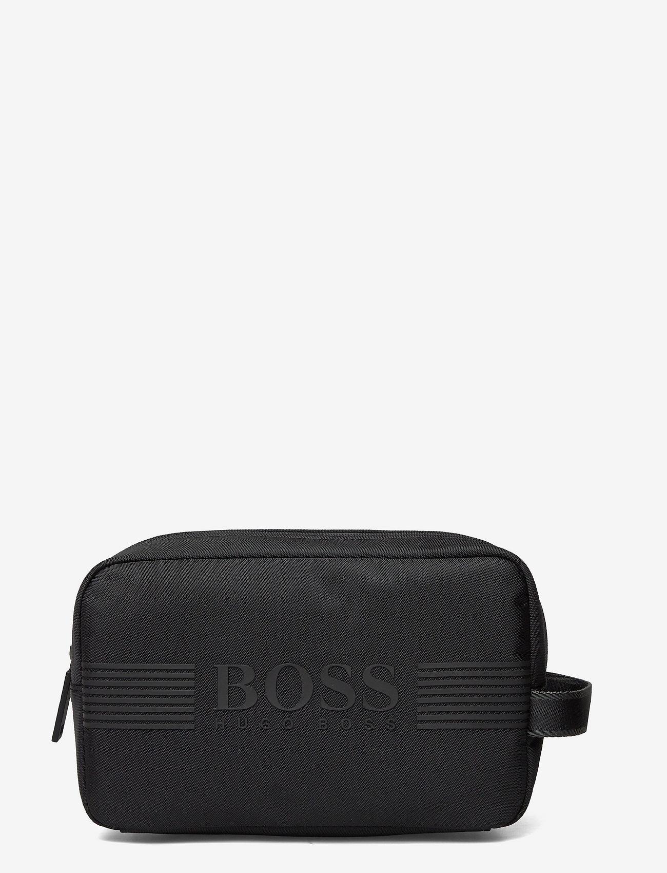 BOSS - Pixel_Washbag - toilettasker - black - 0