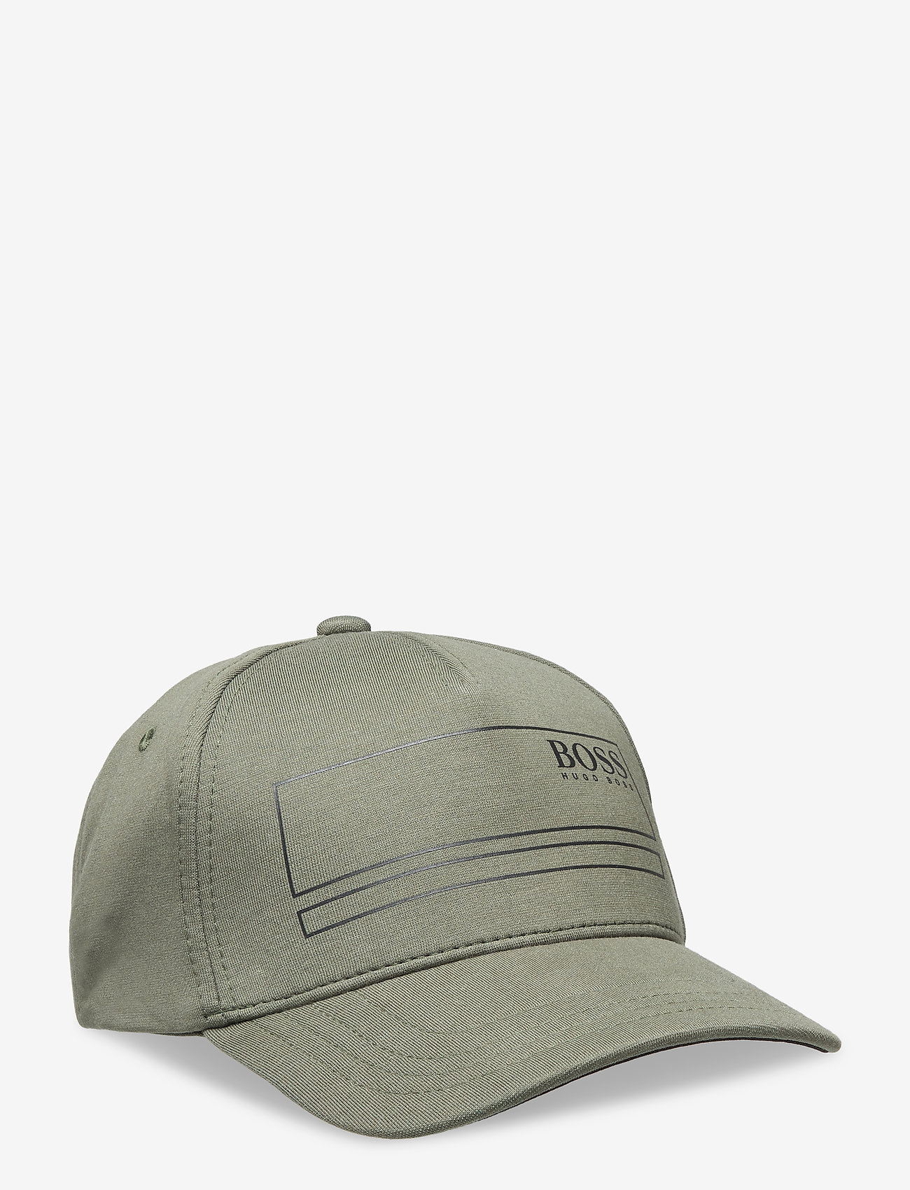 BOSS - Cap-Square - kasketter - dark green - 0