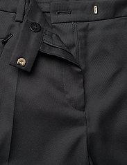 BOSS - Anaita5 - bikses ar taisnām starām - black - 4