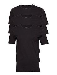 T-Shirt RN 3P CO - BLACK