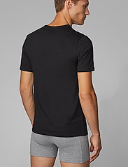 BOSS - T-Shirt VN 3P CO - basic t-shirts - black - 2