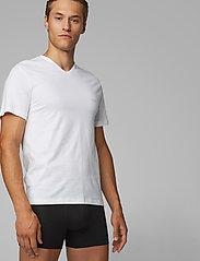 BOSS - T-Shirt VN 3P CO - basic t-shirts - white - 0
