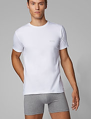 BOSS - T-Shirt RN 2P CO/EL - multipack - white - 0