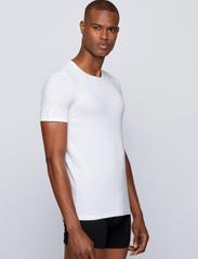 BOSS - T-Shirt RN 2P CO/EL - multipack - white - 4