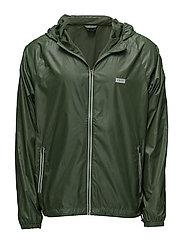 Beach Jacket Zip - DARK GREEN
