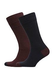 2P RS Heel&Toe CC - DARK RED