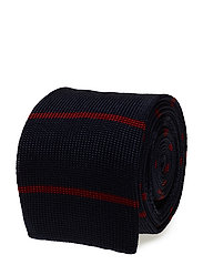 T-Tie 6 cm knitted - NAVY