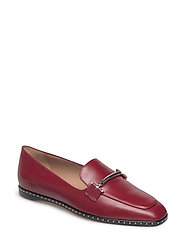 Lara Loafer-MST - DARK RED