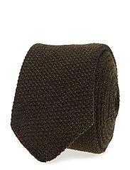 Tie 6 cm soft - DARK GREEN