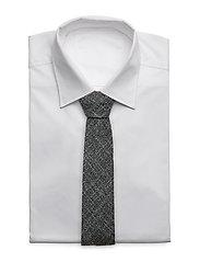 Tie 6 cm soft - SILVER