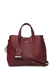 Taylor Small Tote - DARK RED