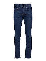 Delaware3-1 Slimmade Jeans Blå BOSS BUSINESS WEAR
